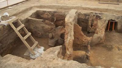 Excavación de Catalhoyuk
