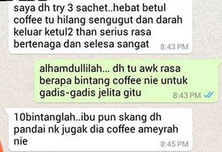 testimoni ameyrah coffee collagen