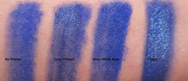 Sugarpill Royal Sugar ChromaLust Pigment Swatches