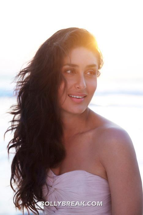 Kareena Kapoor hot off shoulder pic - (2) - Kareena Kapoor Beach Photoshoot - Latest June 2012 Pics