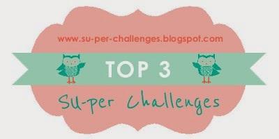 Ik stond in de top 3 van de SU-per challenges!