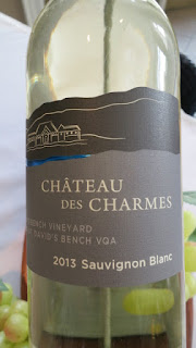 Château des Charmes Sauvignon Blanc St. David's Bench Vineyard 2013 - VQA St. David's Bench, Niagara Peninsula, Ontario, Canada (88 pts)