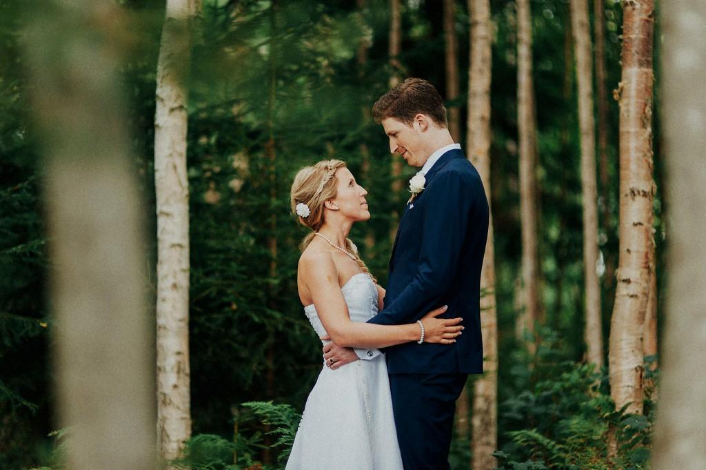 Mikaela och Mattias bröllop i Torsång