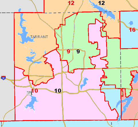 Court Releases Congressional Maps The Texas Tribune The Texas - Map of texas us house of representatives