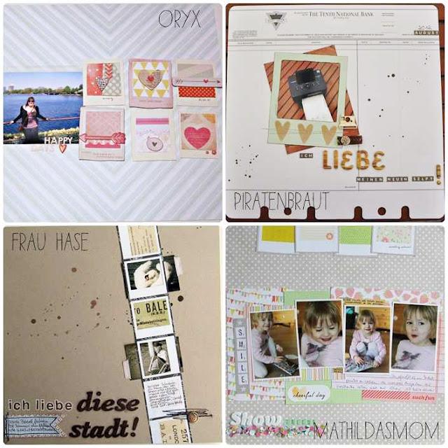 Material der Woche | Instaframes bzw. Polaroid Rahmen | www.danipeuss.de