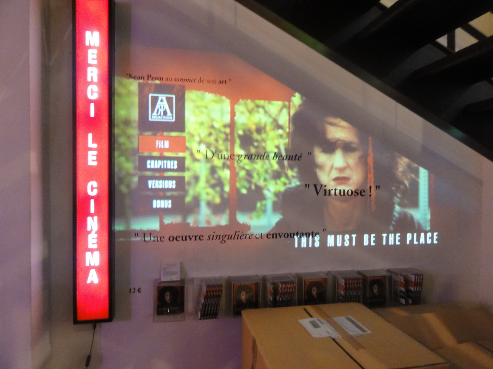 The squid stories november 2012 for Lg store paris