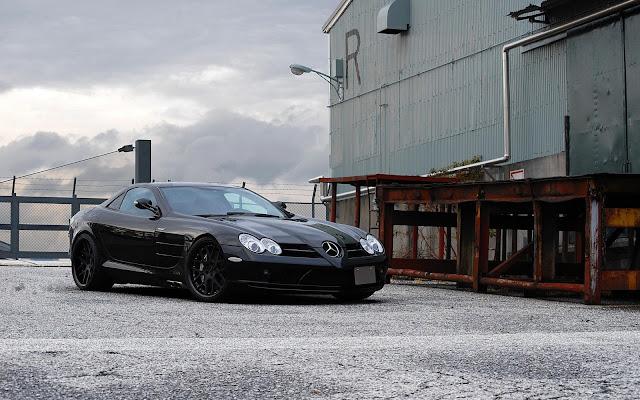 Imagenes del Mercedes-Benz SLR McLaren Negro