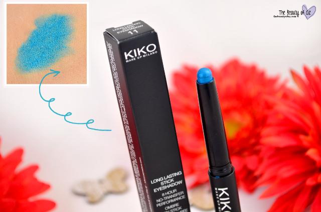 Kiko Summer Sale 2015 Beauty Haul Longlasting Eyeshadow Stick Teal
