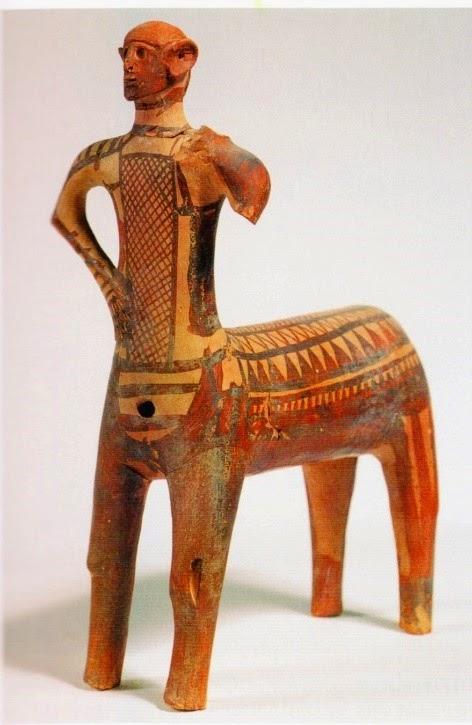 GJCL Classical Art History: The Lefkandi Centaur