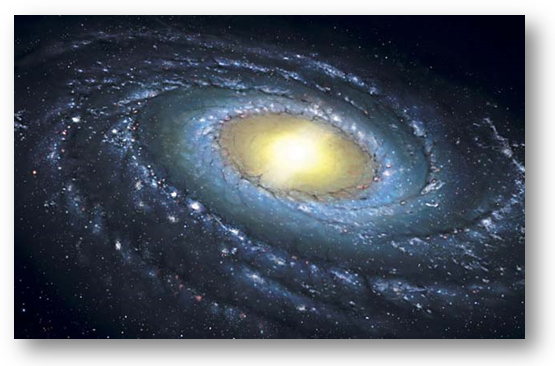 A Via Láctea.