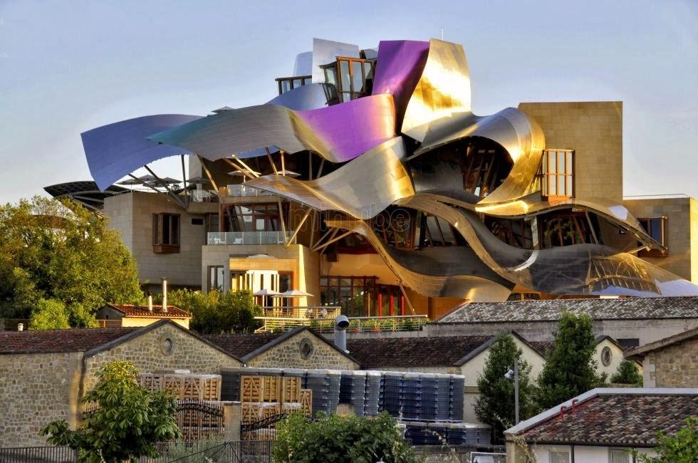 El cruas n de audrey arquitectura y bodegas - Arquitecto bodegas marques de riscal ...