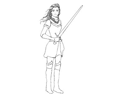 #2 Jack The Giant Slayer Coloring Page