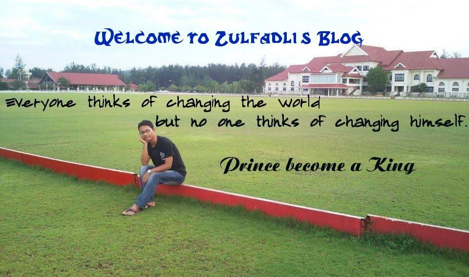 Zulfadli's Blog