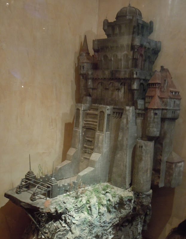 Bram Stoker's Dracula castle miniature
