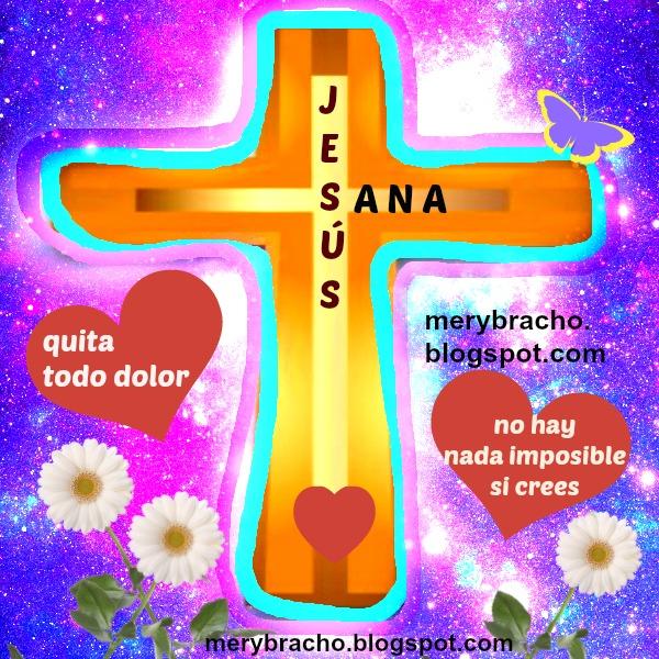 imagen cristiana frases mensajes sanidad