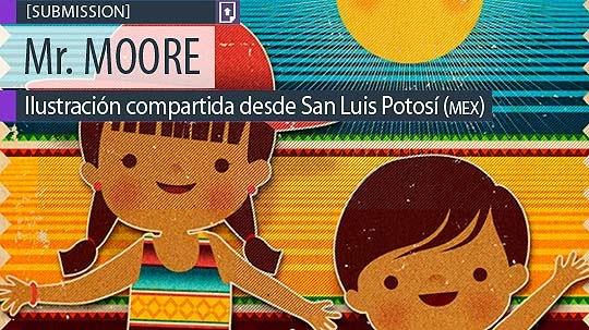 Ilustración. México de Mr. MOORE.