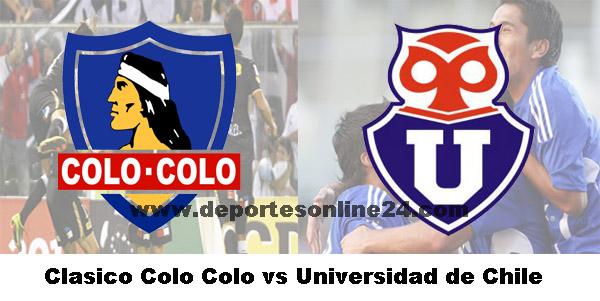 En vivo Colo Colo vs U de Chile Copa Gato online