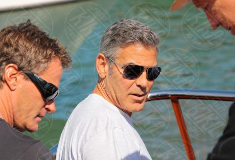 George Clooney arrives in Venice Venise1