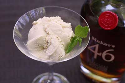 maple bourbon ice cream