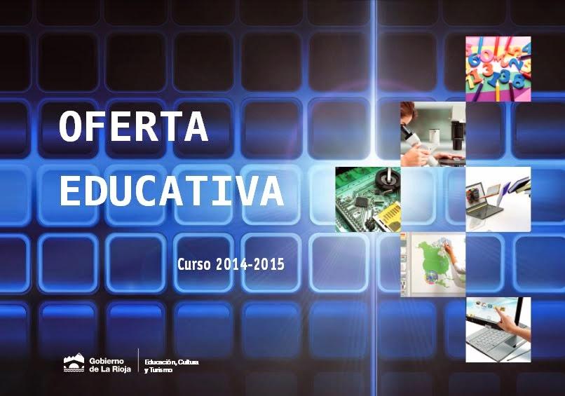 OFERTA EDUCATIVA 2014-15