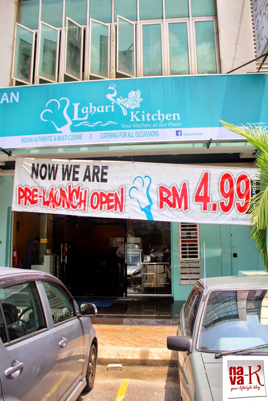 Nava k lahari kitchen bandar puchong jaya puchong for Kitchen set restoran