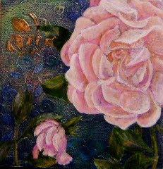 Lillian Austin rose painting