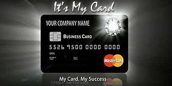 Contoh penilan kartu kredit bukopin business card