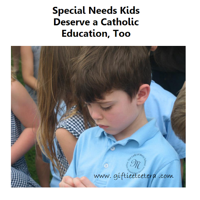 Catholic, Catholic school, special needs