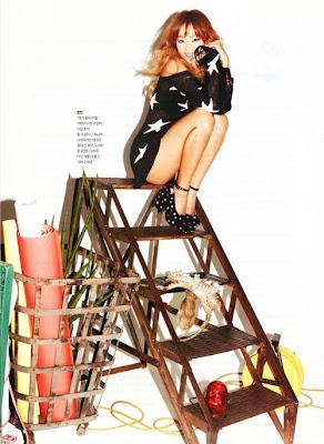 SISTAR Dasom Bora Hyorin Soyu GQ Magazine December 2012