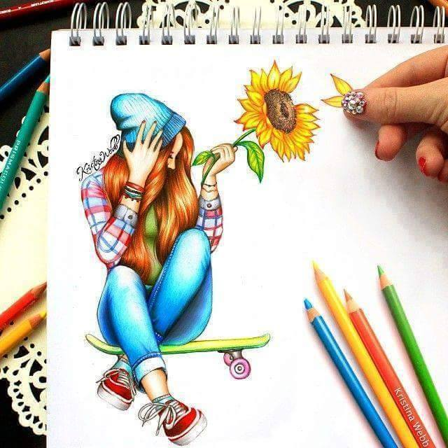Beautiful Color Pencil Drawings & Creative Artworks 2