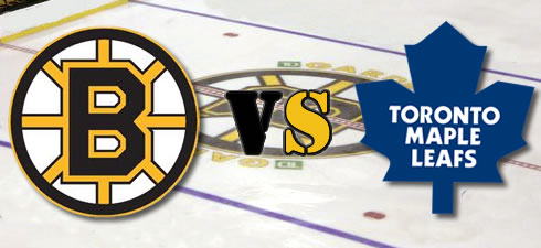 Image result for TORONTO MAPLE LEAFS VRS THE BOSTON BRUINS