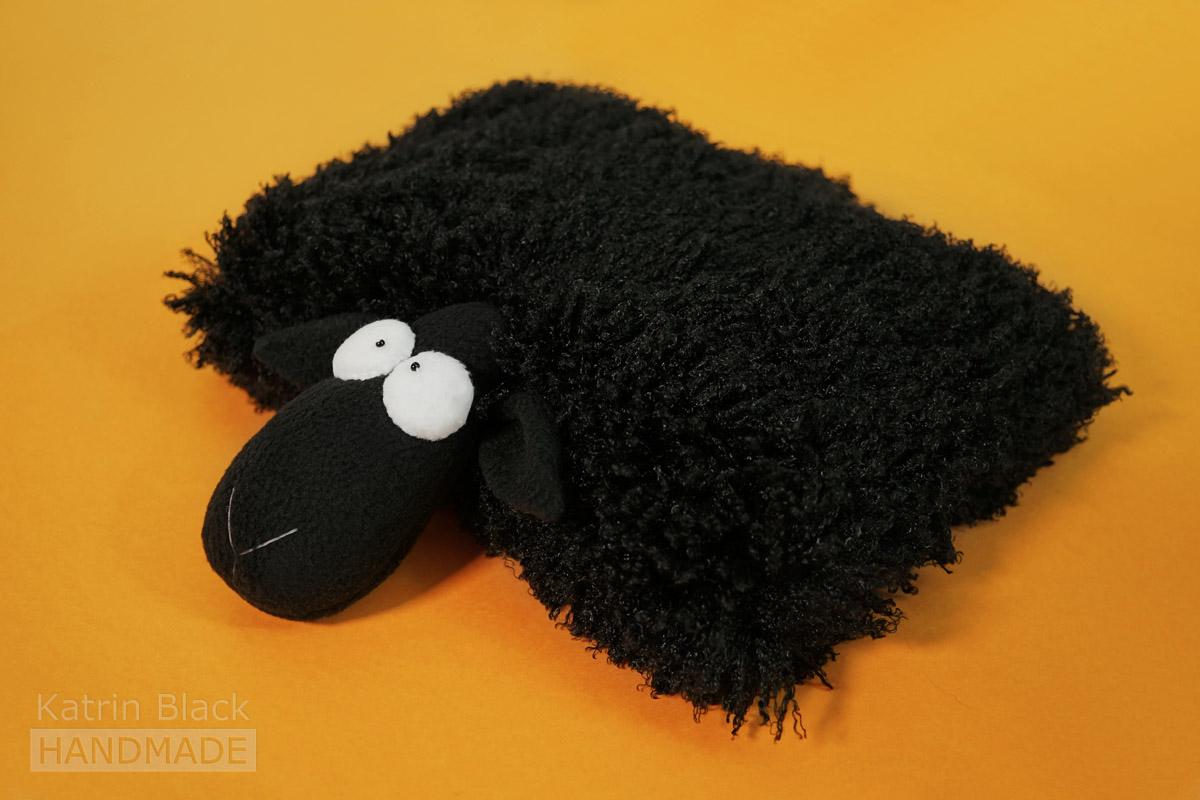Игрушка Овечка-подушка из меха. Купить. Сшить своими руками.