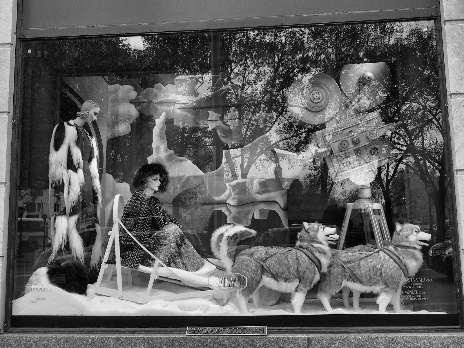 Mush #Mush #bgwindows #windowwatchers #holidaywindows #5thavenuewindows #NYC  #holidays #besttimeoftheyear #nyc ©2014 Nancy Lundebjerg