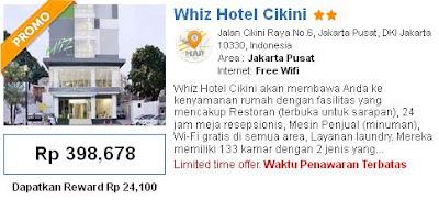 Berikut Adalah Daftar Jotel Murah Di Jakarta Sekitar Gambir Whiz Hotel Cikini