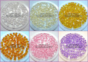 Acrylic Crystal Bicon Shape 6mm