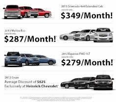new car sales specials