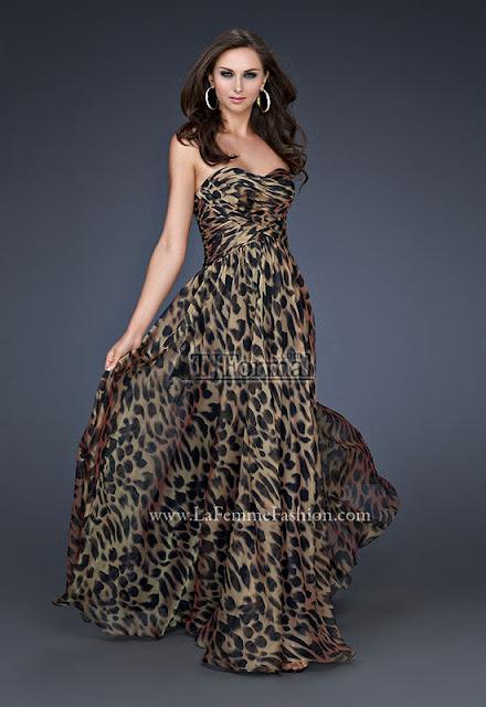 La Femme 2012 Prom Dress