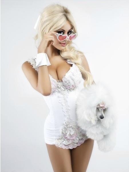 Zahia Deha Bby Karl Lagerfeld