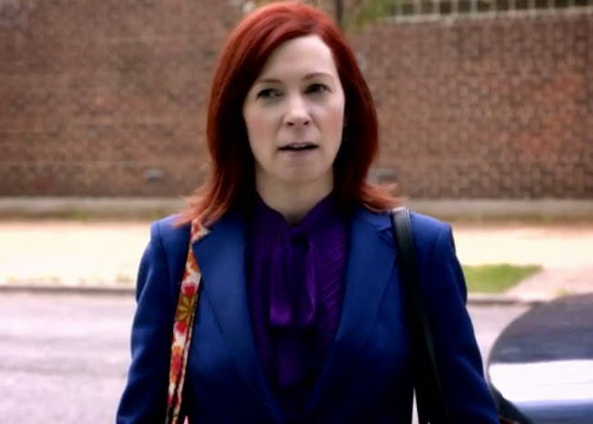 The Good Wife Elsbeth Tascioni Old Spice Season Six Episode Six Carrie Preston photos pics