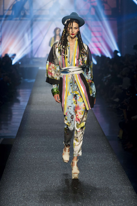 Gaultier Brings The 80s Back With Fashion Homages To Grace