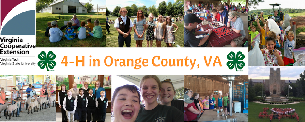 4-H in Orange County, VA
