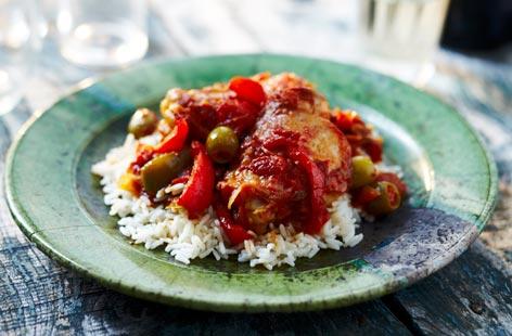 photo baked spanish chicken casserole recipe the chicken recipes ...