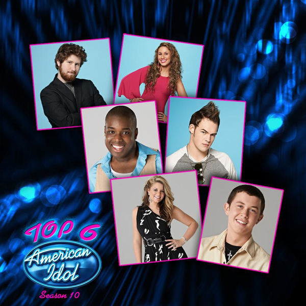 american idol season 10 top 6. American Idol Top 6 Season
