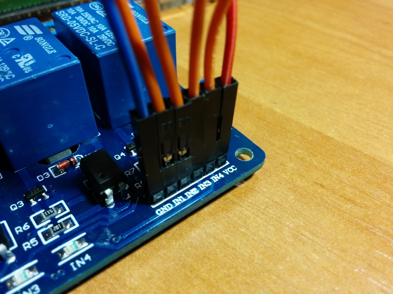 Relay board 12V - 10 channels for Raspberry PI, Arduino