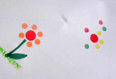 Sticker Collage Preschool Activity