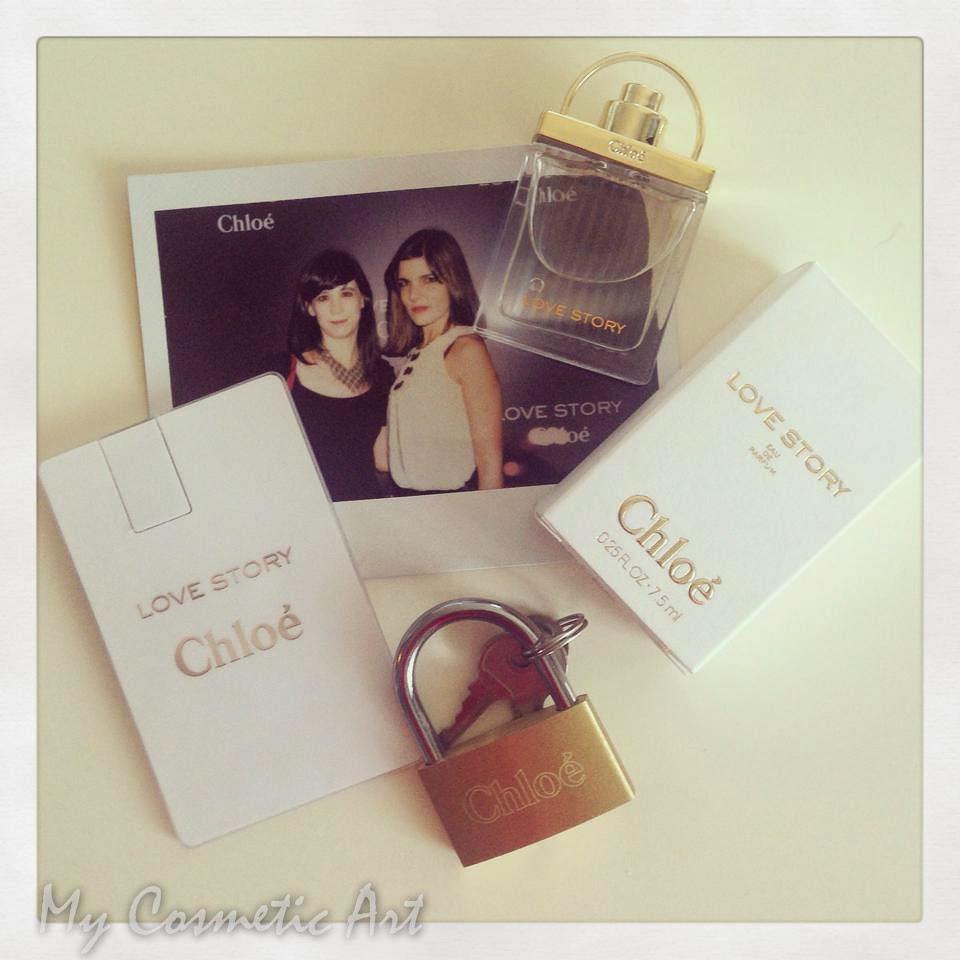 En la presentación de Love Story, la nueva fragancia de Chloé