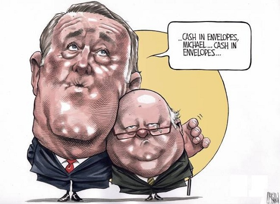 Bruce MacKinnon on Mike Duffy.