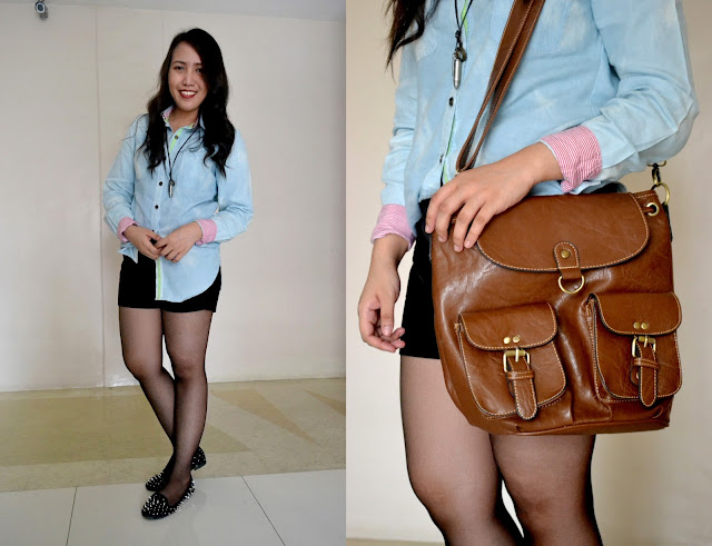 Rizza Salas x Chambray x s&h spikes shoes