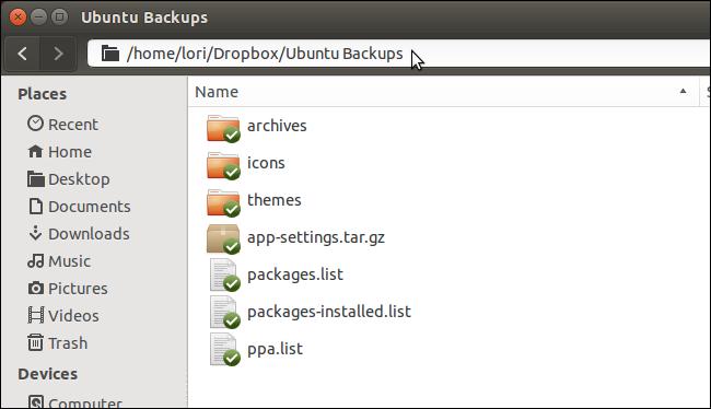System backup program deja dup is a simple backup/restore software for linux systems