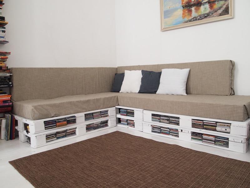 Diy challenge 9 palettencouch veronicard for Couch aus europaletten